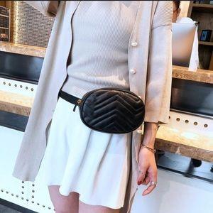 Evolving Always Bags - New Black Waist Bag Compact But Roomy